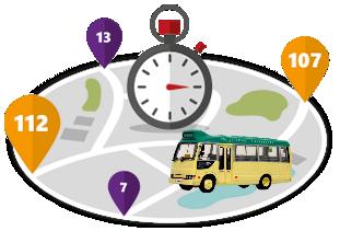 Minibüs durak yönetim sistemi